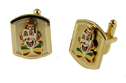 4031770 Set of Shrine Clown Unit Cufflinks Shriner Parade Clown Hospital Cuff Links