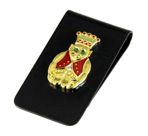4031789 Royal Order of Jesters Money Clip Shrine Jester Billiken ROJ Wallet Bill Fold