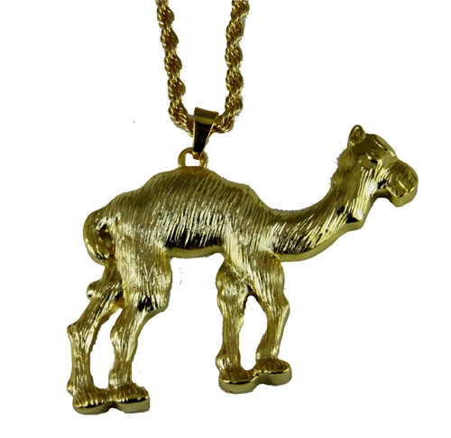 4031839 Camel Necklace Prince Hall Bling Rhinestones With Chain AEAONMS Mason Shriner