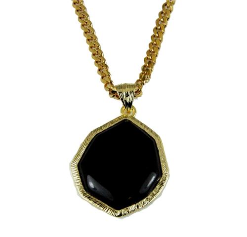 4031853 AEAONMS Masonic Black Stone Necklace Prince Hall Mecca Camel Mason Shriner