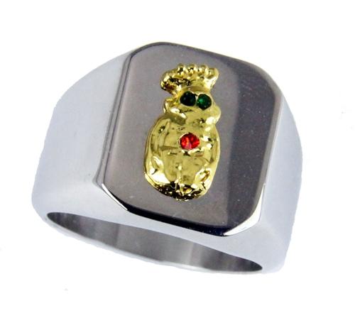 T20 Royal Order of Jesters Ring ROJ Jester Billiken Shriner Mens Bling