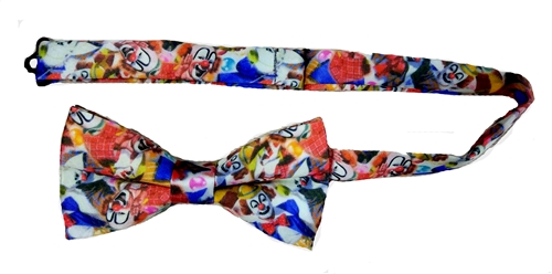 White Face Clown Bowtie