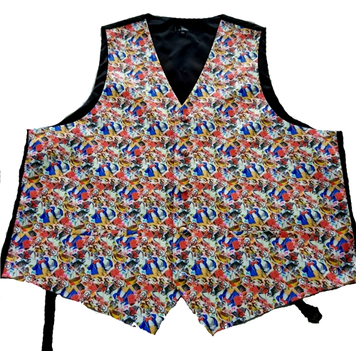 White Face Clown Vest