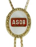3030203 Shrine Oriental Band Unit Bolo Tie Shriner Ties Fez ASOB