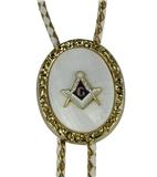 3030207 Freemason Bolo Tie Shriner Ties Mason Masonic