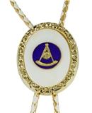 3030211 Past Master Bolo Tie Shriner Fez Mason Freemason