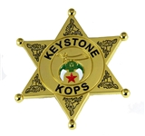 4030783 Shriner Keystone Kop Badge Cop Key Stone Cops Lapel Pin Large Size