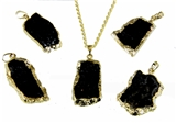 4030955 Masonic Black Stone Necklace Freemason Mecca Black Rock Mason Prince Hall Egyptian