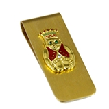 4031757 Billiken Money Clip Royal Order of Jesters ROJ Jester Mirth is King Gift Present