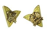 4031765 Set of Scottish Rite 32nd Degree Collar Tips Stays Mason Freemason Formal 32