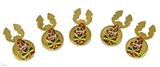 4031768 Set of Shrine Clown Unit Button Covers Shriner Parade Clown