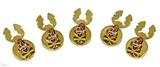 4031768 Set of Shrine Clown Unit Button Covers Shriner Parade Clown