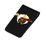 4031786 Shrine Money Clip Shriner Scimitar Crescent Moon Star Wallet Bills