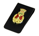 4031789 Royal Order of Jesters Money Clip Shrine Jester Billiken ROJ Wallet Bill Fold