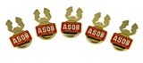 4031817 Oriental Band Button Covers ASOB Association Shrine Shriner Band Formal