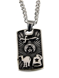 4031836 Shriner Necklace Shrine Prince Hall Mason Masonic Camel Fezz Scimitar