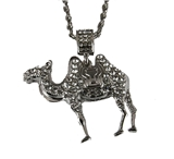 4031837 Camel Necklace Prince Hall Bling Rhinestones With Chain  AEAONMS Mason Shriner