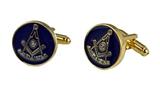 4031862 Past Master Cufflinks Pair Set Mason Worshipful Masonry Freemason