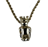 4031868 ROJ Biliken Necklace Royal Order of Jesters Billiken Pendant Rear Facing Jester Shriner Mirth is King
