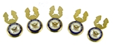 4031870 United States Navy Button Covers US Naval Officer Formal Dress Blues Tuxedo Seaman