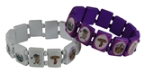 4031880 Set of 2 Pieces Roj Stretch Bracelet Royal Order of Jesters Biliken Mirth is King
