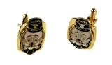 4031891 Set of Shrine Clown Unit Cufflinks Shriner Parade Clown Hospital Cuff Links Formal Dress Suit