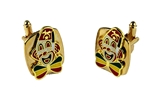 4031892 Set of Shrine Clown Unit Cufflinks Shriner Parade Clown Hospital Cuff Links Formal Dress Suit