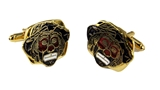 4031893 Set of Shrine Clown Unit Cufflinks Shriner Parade Clown Hospital Cuff Links Formal Dress Suit