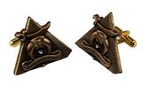 4031906 Shrine Past Potentate Cuff Links Cufflinks Shriner Prince Hall Mason Masonic Freemason Scottish Rite