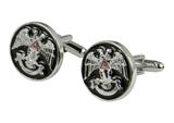 4031911 Scottish Rite Cuff Links 32nd Degree Wings Up Northern District Cufflinks 32 Freemason Masonic Freemasonry