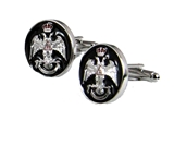 4031925 Scottish Rite 33 Degree Cuff Links 33rd Degree Consistory Wings Up Supreme Council Jurisdiction