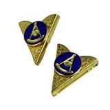 4031942 Past Master Collar Tips Masonic Master Mason Apparel Tuxedo Formal Accessory