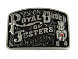 4031949 Royal Order of Jesters Belt Buckle Billiken ROJ Jester Mirth is King Biliken Court Book of Plays