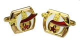 6030030 Shrine Cufflinks Shriner Scimitar Cuff Links Tuxedo Hospital