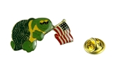 6030055  Are You A Turtle Lapel Pin AYAT YBYSAIA Turtle Association American Flag Shrine