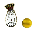 6030538 ROJ Biliken Lapel Pin Royal Order of Jesters Billiken Mirth is King Jester