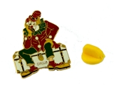 6030624 Shrine Circus Lapel Pin Clown Shriner Hospital Childrens