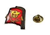 6030628 Shriner Fez Crutches Lapel Pin Oriental Band Shrine Brooch Fezz Hat