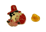 6030630 Shriner Hillbilly Girl Lapel Pin Brooch Shriner Temple