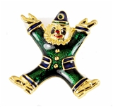 6030639 Shrine Clown Unit Pin Lapel Brooch Shriner Circus Hospital
