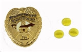 6030648 Unit 714 Shriners Hospital Badge We Protect and Serve the World of Children