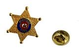 6030649 Shriner Lapel Pin Keystone Kops Pin Cop Badge Unit ID