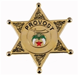 6030663 Shriner Provost Badge Unit Badge Medallion Pin