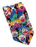 Cartoon Clown Face Necktie