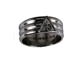 T101 Scottish Rite 33 Degree Stainless Steel Ring 33rd Thirty Third Freemason Mason Consistory Supreme Council