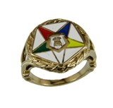 T26 OES Stainless Steel Ring Order Eastern Star O.E.S. Sister