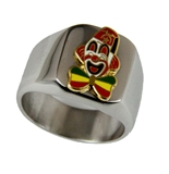 T44 Shriner Clown Unit Ring Shrine Circus Shriner Hospital Fez Scimitar