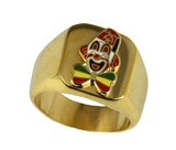 T45 Shriner Clown Unit Ring Shrine Circus Shriner Hospital Fez Scimitar
