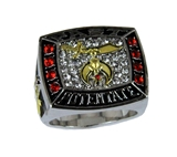 T92 Past Potentate Superbowl Championship Ring Shrine Temple Shriner