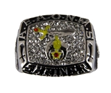 T94 AEAONMS Prince Hall Shriner Championship Super Bowl Ring Shrine Mason Masonic Freemason